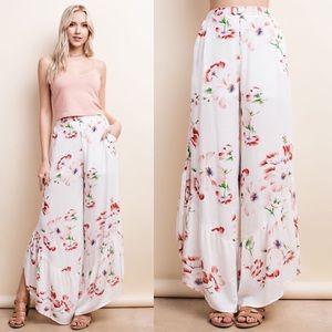 TILLIE Floral Spring Pants